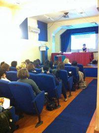 Laura Piccinini relatrice convegno